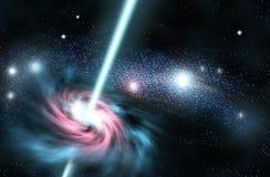 светлая закрутка космоса Стоковые Фотографии RF