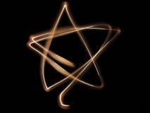 светлая звезда Стоковые Изображения RF
