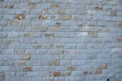 Светлая каменная стена стена текстуры кирпича предпосылки старая Стоковая Фотография