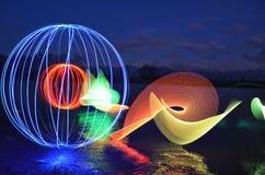 Светлая картина в воде Стоковые Изображения RF