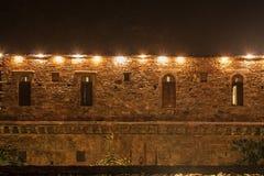 Светлая мозаика стены утеса Стоковое Фото