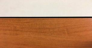 Светлая мягкая деревянная поверхность как предпосылка, деревянная текстура Деревянная стена Стоковая Фотография RF