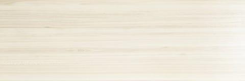 Светлая мягкая деревянная поверхность как предпосылка, деревянная текстура Деревянная планка Стоковая Фотография RF