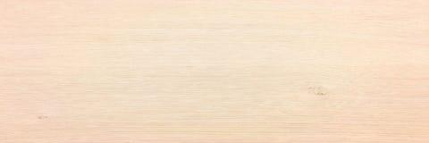 Светлая мягкая деревянная поверхность как предпосылка, деревянная текстура Деревянная планка Стоковая Фотография