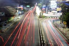 светлая ноча стоковое фото rf