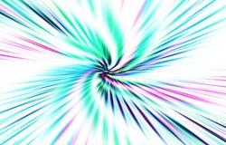 Светлая предпосылка вектор Волнистые покрашенные нашивки на белой предпосылке Изображение расходится от середины к краям Стоковое фото RF