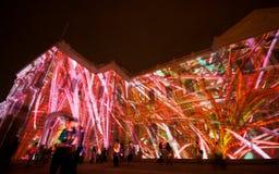 светлая психоделическая выставка Стоковая Фотография RF