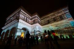 светлая психоделическая выставка Стоковое Изображение RF