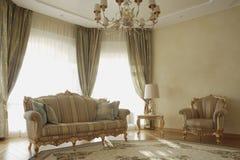 светлая пышная комната стоковая фотография rf