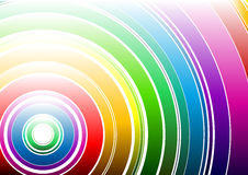 светлая радуга Стоковое Изображение RF
