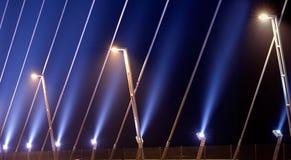 светлая самомоднейшая улица Стоковое фото RF
