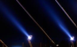 светлая самомоднейшая улица Стоковые Фотографии RF