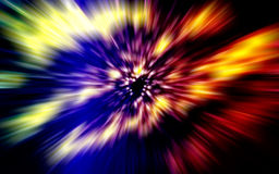 светлая скорость Стоковое фото RF