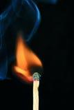 светлая спичка Стоковое фото RF