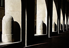 светлая тень Стоковые Изображения