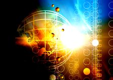 светлая технология Стоковое Фото