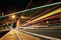 светлая улица Стоковые Изображения RF