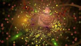 Светлое влияние bokeh Стоковые Изображения RF