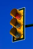 светлое красное движение Стоковое Изображение RF