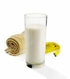 светлое молоко Стоковое Изображение