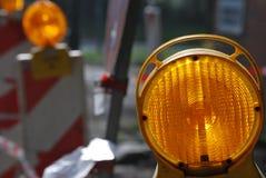 светлое предупреждение Стоковая Фотография RF