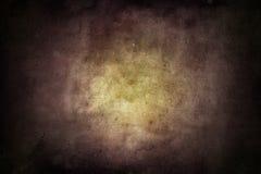 Светлое пятно в темных обоях grunge Стоковое фото RF