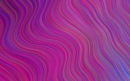 Светло-фиолетовая картина вектора с линиями, овалами Различные тени фиолетового, розовый, голубой Современный минималистский диза Стоковое фото RF
