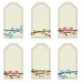 светлые бирки Стоковая Фотография RF
