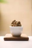 светлые естественные арахисы Стоковое Фото