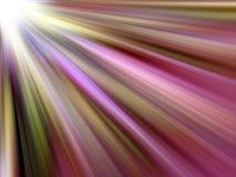 светлые пестротканые лучи Стоковое фото RF