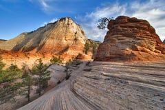 светлые тени гор Стоковое фото RF