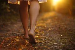 светлые шаги Стоковое Фото