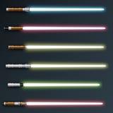 светлые sabers Стоковые Фотографии RF