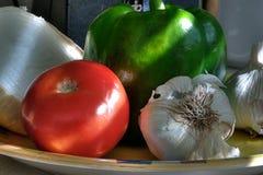 светлые veggies утра стоковые фотографии rf