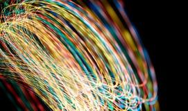 светлый завихряться Стоковые Фотографии RF