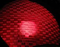 светлый красный стоп Стоковая Фотография RF