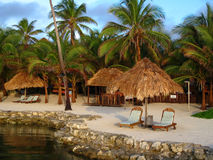 светлый курорт утра тропический Стоковые Изображения
