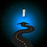 светлый переключатель дороги Стоковые Фотографии RF