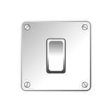 Светлый переключатель иллюстрация вектора