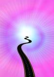 светлый путь к Стоковое Изображение