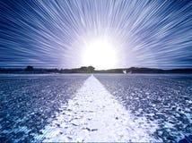 светлый путь к Стоковые Фотографии RF