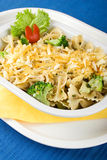светлый салат макаронных изделия Стоковая Фотография