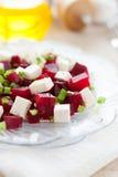 Светлый салат свекл и фета Стоковые Изображения RF