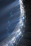 светлый стадион Стоковая Фотография