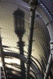 Светлый столб через загородку Стоковые Фото