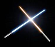 светлый saber Стоковое Изображение RF