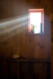 светлый sauna древообразный Стоковые Изображения