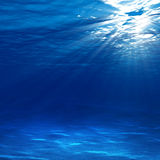светлый underwater иллюстрация вектора
