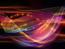 Световая волна цифров бесплатная иллюстрация