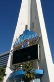 Световая реклама на наблюдательной вышке Стоковые Фотографии RF